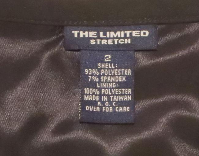The Limited Lined Stretch Career/Club/Casual Classic A Line Skirt Black Image 7