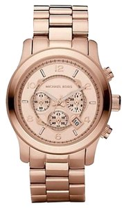 Michael Kors Michael Kors Runway Chronograph Rose Gold-tone Men's Watch 45mm MK8096