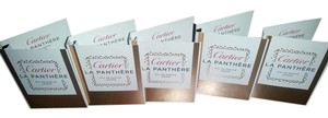 Cartier Lot of 5 Cartier La Panthere eau de parfum mini 1.5ml
