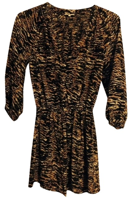 Joie short dress Brown Multi on Tradesy