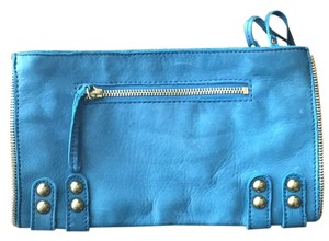 Linea Pelle Blue Clutch