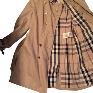 Burberry London Trench Coat Khaki Jacket