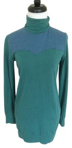 Synergy Organic Clothing Turtleneck Green Tunic