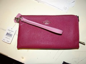Coach Coach Lg. Colorblock Double Zip Wrist Wallet