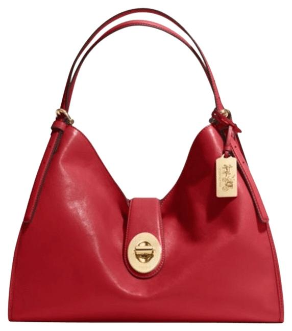 Item - Shoulder Bag Carlyle Madison In 32221 Red Currant Leather Satchel