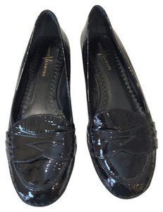 Vince Camuto Heel Comfortable Black Patent Leather Flats