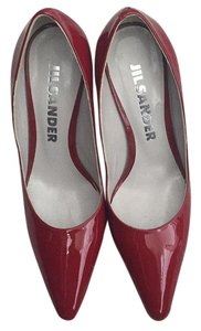 Jil Sander Red Pumps