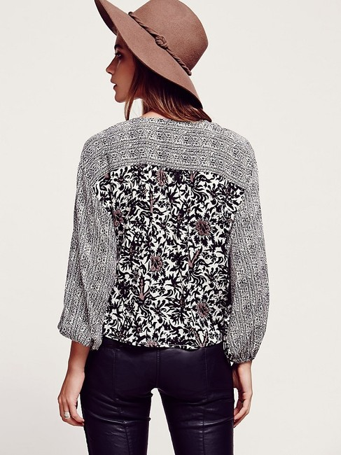 Free People Printed Ballon Cute Clothing Jacket