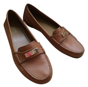 Coach Fredrica Loafer Leather Tan Flats