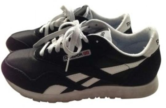 Preload https://item2.tradesy.com/images/reebok-black-and-white-sneakers-lifestyle-classic-nylon-sneakers-size-us-8-regular-m-b-155561-0-0.jpg?width=440&height=440
