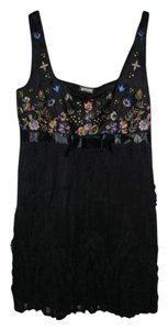 John Galliano Embroidered Dress