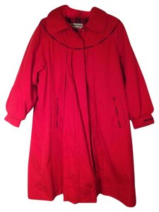 Rothschild Red Girl Size Trench Coat