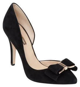 BCBGeneration Black and gold Pumps