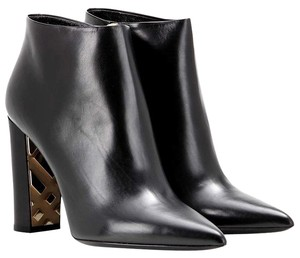 Burberry Bamburgh Ankle Boot Bootie Black Boots