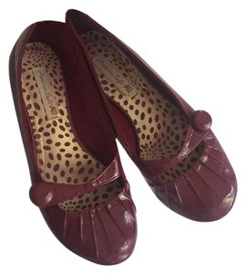 American Eagle Outfitters Red Flats