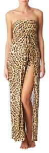 Melissa Odabash Halter Maxi Cover-up Dress