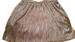 BCBGeneration Skirt Gold Shimmer