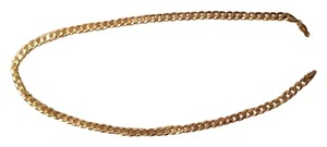 10K Yellow Gold Men's Cuban Link Chain
