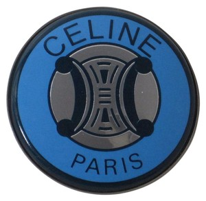 Céline Rare Enameled Ponytail Holder