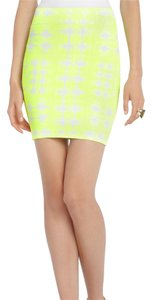 BCBGMAXAZRIA Mini Skirt Yellow