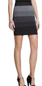 BCBGMAXAZRIA Mini Skirt Gray ombre