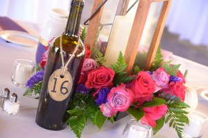 BHLDN Brass Bhdln Table Numbers Centerpiece