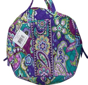 Vera Bradley Heather GRAND Cosmetic Vera Bradley NWT $42 pockets/Handles