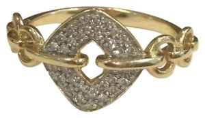14k sold gold with diamonds