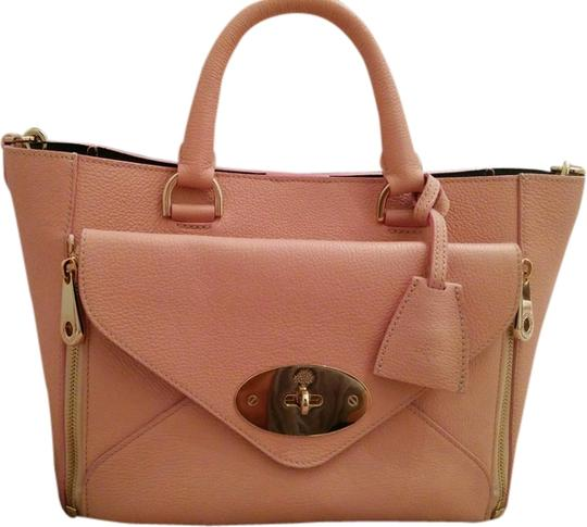 Preload https://item1.tradesy.com/images/mulberry-willow-ballet-pink-grainy-calf-tote-1555955-0-0.jpg?width=440&height=440