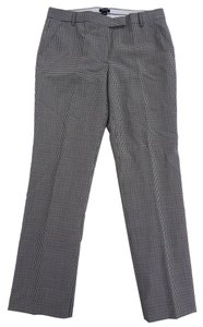 J.Crew Wool 6 Glen Plaid Plaid Trouser Pants Hunter Green