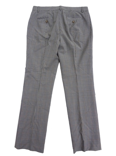 J.Crew Wool 6 Glen Plaid Plaid Trouser Pants Hunter Green Image 5