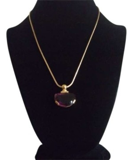 Preload https://item1.tradesy.com/images/amethyst-pendant-w-gold-chain-necklace-155605-0-0.jpg?width=440&height=440