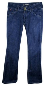 Hudson Jeans Boston Wash Signature Boot Cut Jeans-Medium Wash
