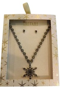 Trifari New Trifari Necklace and Earrings Set