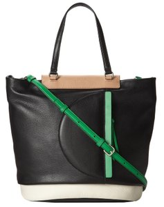 Marc by Marc Jacobs Round The Way Girl Leather Tote Handbag Shoulder Bag