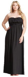 Jessica Simpson Strapless Empire Waist Full Length Evening Party Dress