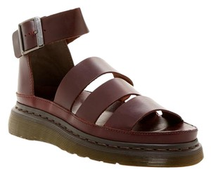 Dr. Martens Festival Summer Leather Boho Dark Brown Sandals