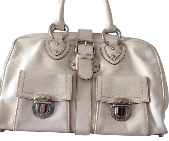 Item - Never Used White Leather Satchel