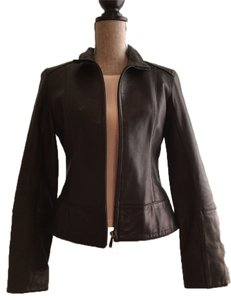Marc New York Leather Leather Jacket