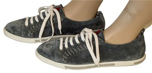 Prada Suede Sneakers gray Athletic