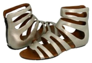 Cole Haan metallic silver/Gold Sandals