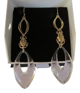 Alexis Bittar alexis bittar Clear Lucite and Crystal Drop Earrings