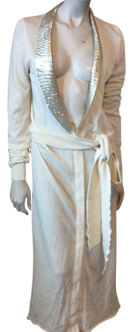 Item - Ivory Mid-length Night Out Dress Size 12 (L)