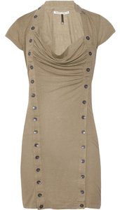 Twenty8Twelve short dress Beige Fenella Button Front on Tradesy