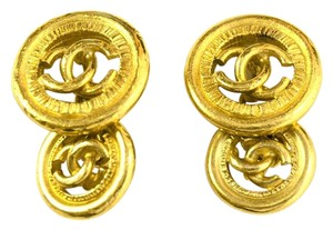 Chanel Chanel Gold CC Cufflinks