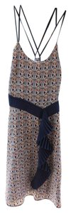 Liberty of London for Target short dress navy & white mixed floral Sundress on Tradesy