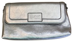 Marc Jacobs cow head clutch Silver Clutch