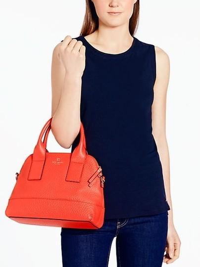 Kate Spade Satchel in Flame