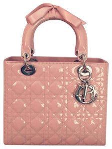 Dior Satchel in Baby pink