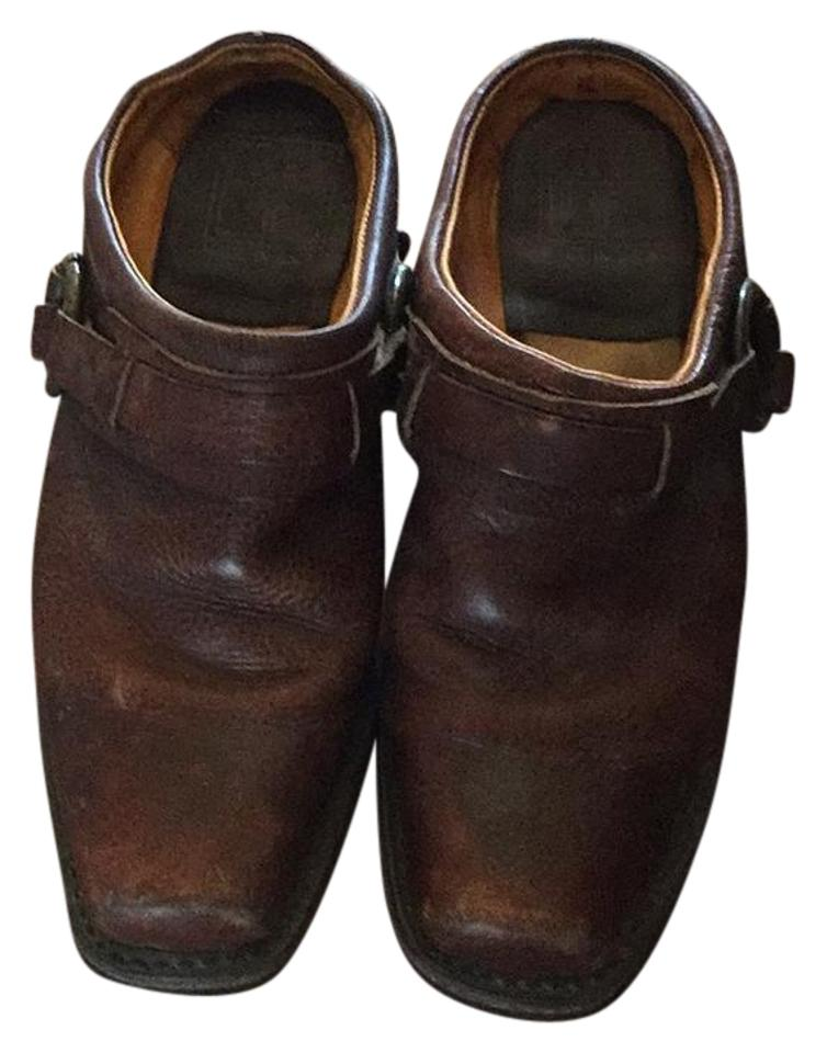 LADY Frye Brown Brown Frye Mules/Slides Reliable quality edf713